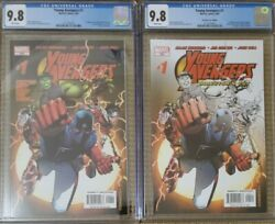 Young Avengers 1 Reg And Director's Cut Cgc 9.8 Nm/mt 1st Kate Bishop And More 🔥🔥
