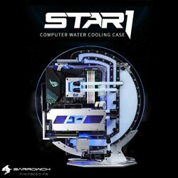 Barrowch Star1 Series Circular Water Cooling Case, Limited Edition, Pc Computer
