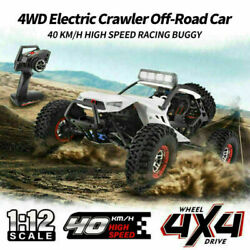 Wltoys Xk 12429 112 Rc Toy Car 40km/h 4wd 2.4g Electric Crawler Off-road New