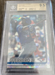 Vladimir Guerrero Jr 2019 Topps Chrome 340 Sapphire Rookie Rc Bgs 9.5 Gem Mint