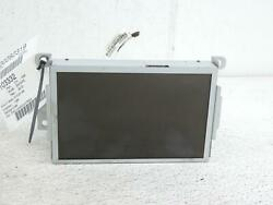 Info-gps-tv Screen Front 8 Display Oem Ford Escape 13 Sold As Is No Warranty