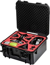 Tomat Waterproof Hard Case Storage Bag For Dji Fpv Combo Drone With Goggles V2