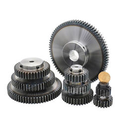 Pinion Gears 1 Mod Spur Gear 10t-35tooth Bore 5-12mm Spur Transmission For Rack