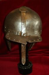 Polish Wing Hussar Lobster Helmet German French No Sword 100 Authentic