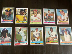 1976 Topps Baseball Complete Set Nm/mint By Far Best Set Listed For Sale