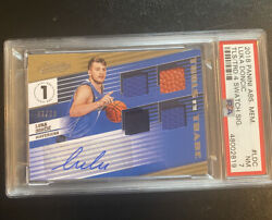 Luka Doncic Absolute Rpa 77/99 Jersey Number Mavs Rookie Auto 1/1