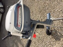 3 Hp Evinrude Lightwin Mint Like New Condition