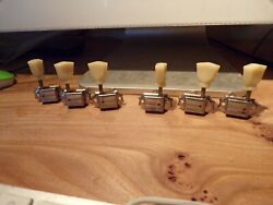 Rare Kluson No Name Patent Applied Tuners To Fit A '50s Gibson Les Paul Gold Top