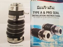 Pss Pro 212-412 Marine Packless Sealing System 2-1/2 X4-1/2 Dripless Shaft