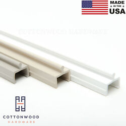 Sliding Screen Door Track 72 White Almond Taupe Vinyl Made In The Usa