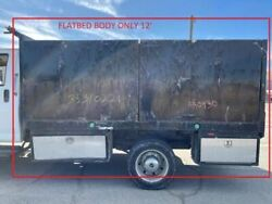Used 12and039 Flatbed As Shown From 07 Gmc C4500 Truck. Los Angeles California 29497