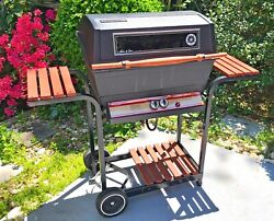 Vintage Sears Kenmore Gas Bbq Grill 1986 Model 1076 Aluminum Barbeque 42000btu
