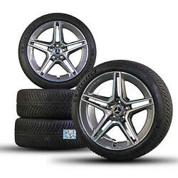 Amg 19 Inch Mercedes Rims Cls C257 Winter Tires Winter Wheels A2574011500 6.5 Mm