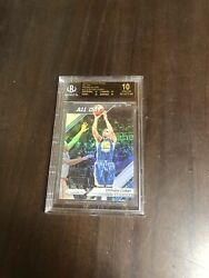 2016-17 Panini Silver Prizm All Day 13 Stephen Curry Warriors Bgs Black Label
