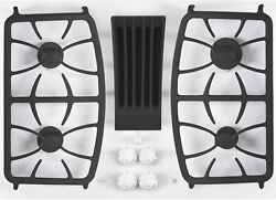 Ge Profile Pgp9830tjww 30 White Built-in Downdraft Gas Cooktop Nib 109436