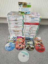 Nintendo Wii Games - Select And Choose - Multi Listing - Family / Kids / Adults