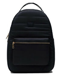 Supply Co. Nova Quilted Mid Volume Black Backpack Nwt