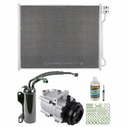 For Ford E150 E250 E350 2008-2015 A/c Kit W/ Ac Compressor Condenser And Drier Csw