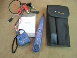 Nice Fluke Networks Pro3000 Tone Generator, Probe, Case And Users Guide