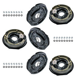 3 Pair Trailer Backing Plate Brakes Electric 12 Self Adjust 7000 Left Right