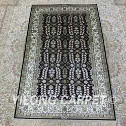Yilong 2.7and039x4and039 All-over Handwoven Silk Carpet Home Decor Indoor Area Rug H206b