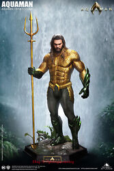 Queen Studios 1/2 Aquaman Limited Resin Statue 39and039and039 High Model Instock
