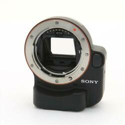 Secondhand Sony Mount Adapter La-ea2 For Lens/ Ebody Translucent
