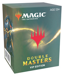 Double Masters Vip Booster Pack Factory Sealed Mtg Magic X1