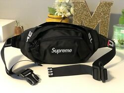 🔥Brand New Supreme Black Waist Shoulder Bag Fanny Pack for Women amp; Men Unisex $40.00