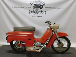 1960and039s Jawa 05a Scooter Moped