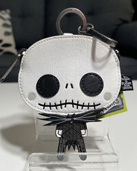 Loungefly The Nightmare Before Christmas Jack Coin Purse Keychain Nwt