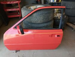 1983-1991 Used Porsche 944 Driver Side Door With Window And Mechanical's- Clean