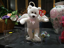 Ty Beanie Baby Halo The Angel Bear Excellent Condition0n