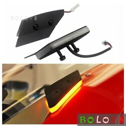 For Ducati 1299 / 959 Panigale Race Bike Mirror Block Off Front Led Turn Signals