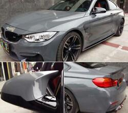 100ft X 5ft Cement Grey Ultra Gloss Vinyl Glossy Car Wrap Film Graphics Stickers