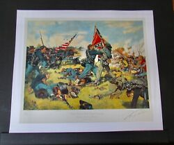 Don Troiani - Fight For The Colors - Mint Print - Collectible Civil War Print