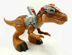 Fisher-price Imaginext Jurassic World Rex Tall Dinosaur Only Toy, Pre-owned