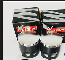 Yamaha Rd350 Rd 350 Wossner Piston / Rings / Pin And Clips Set Of 2 New
