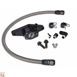 Cummins Coolant Bypass Kit 12v 94-98 With Stainless Steel Braided Line Fleece