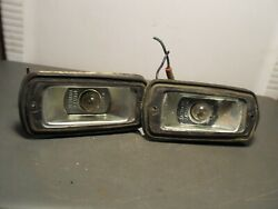 Two As Pictured 70s Datsun 280z Amber Side Marker Light Iki 5004 Japan Sae Pia69