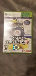 Ncaa Football 14xbox 360 2013factory Sealed-comes With Tracking And Protected