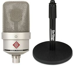 Neumann Tlm 49 Large-diaphragm Condenser Microphone + On-stage Stands Ds7200b