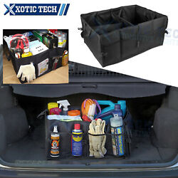 Groceries Collapsible Organizer Cargo Storage Basket For Universal Fit Suv Trunk