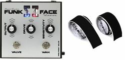 Ashdown Funk Face Twin Dynamic Filter Pedal + Pedaltrain Official Hook-and-loop
