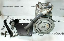 Mercedes M110 A/c Compressor Assembly With Base York.