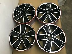 New 2011 - 2015 Chevy Camaro Set Of 4 Rims 21 9.5 Wheel Front Rear Red Line Oem
