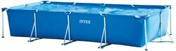 Intex 14.75ft X 33in Frame Backyard Above Ground Swimming Pool Open Box