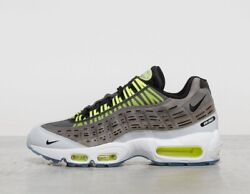 Nike X Kim Jones Air Max 95 Grey White Yellow Menand039s Trainers All Sizes