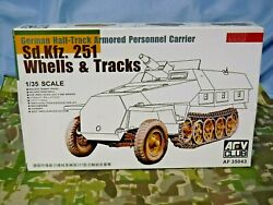 Afv German Half-track Armored Personnel Carrier Sd.kfz. 251 Wheels And Track 30