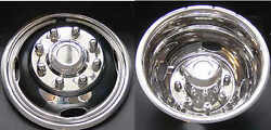 4 New Ford F350 17 Dually Stainless Steel Wheel Simulators Dual Rim Liners Dot